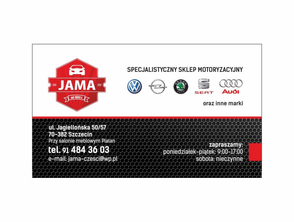 Wizytówka – Jama