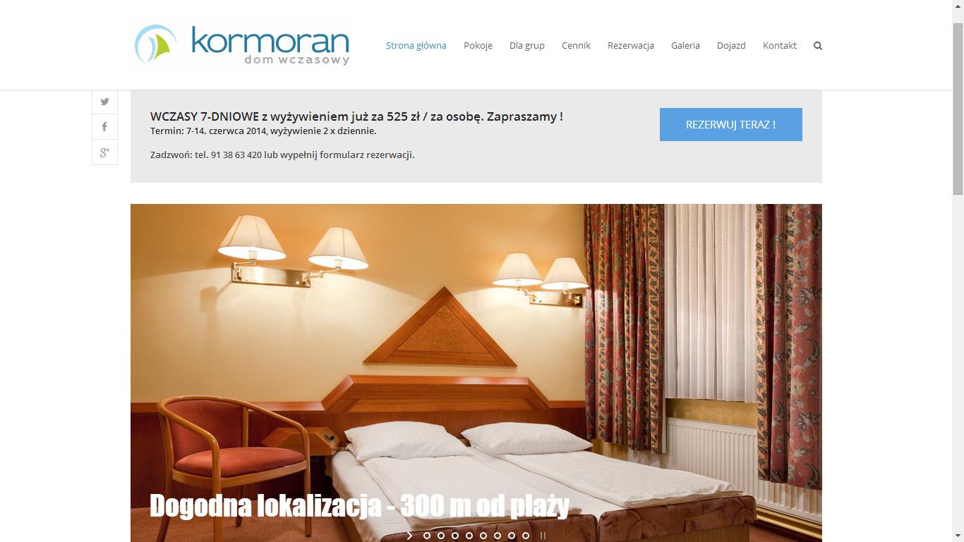 Strona www – www.niechorze.co