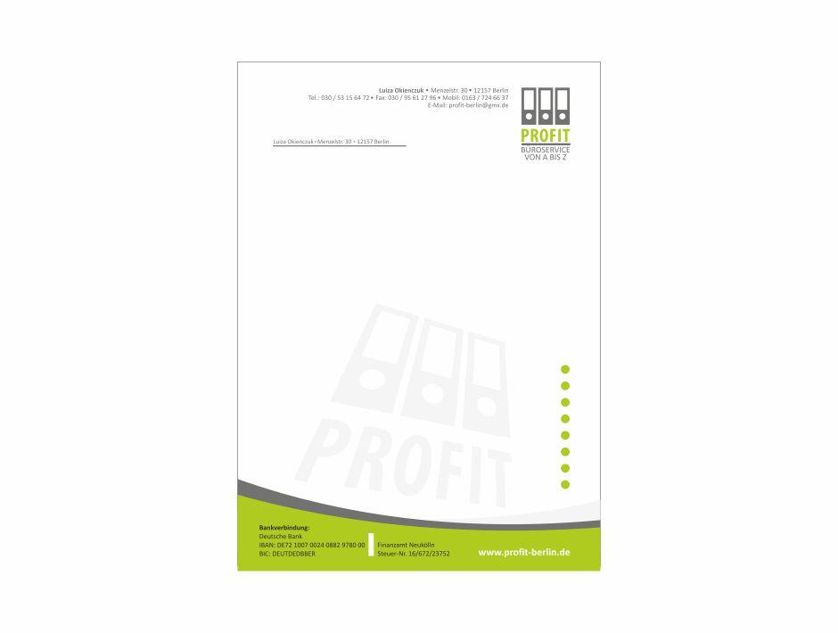 Papier firmowy – PROFIT