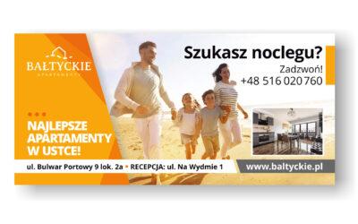 Billboard Apartamenty Bałtyckie