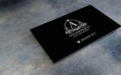Wizytówka – Atelier Piękna