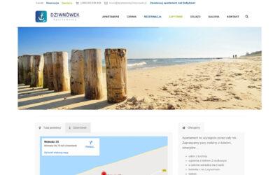 Strona WWW – apartamentydziwnowek.pl
