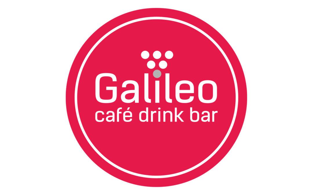 Logotyp – GALILEO cafe drink bar
