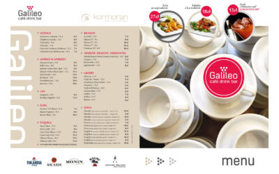 Menu – Cafe Drink Bar GALILEO