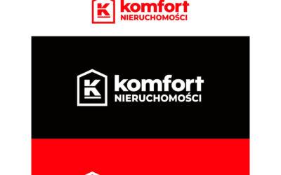 Logotyp – Komfort Nieruchomości