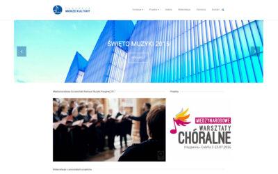Strona www – Fundacja Morze Kultury