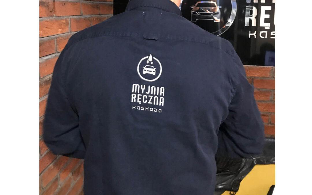 Koszula z logo – Myjnia Kaskada