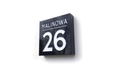 Numer domu – Malinowa