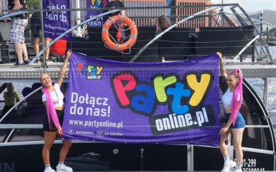 Party Online – flaga i windery
